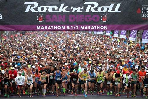 My excellent adventure: the Suja RNR San Diego Marathon & Half Marathon, the granddaddy of RNR marathons, by Larry Eder