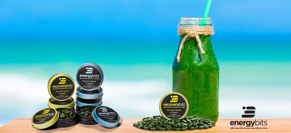 It's Good to be Green: Chlorophyll and Detox