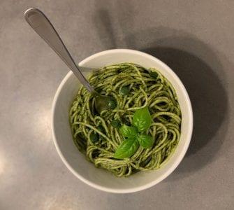 RECOVERYbits Pesto Pasta