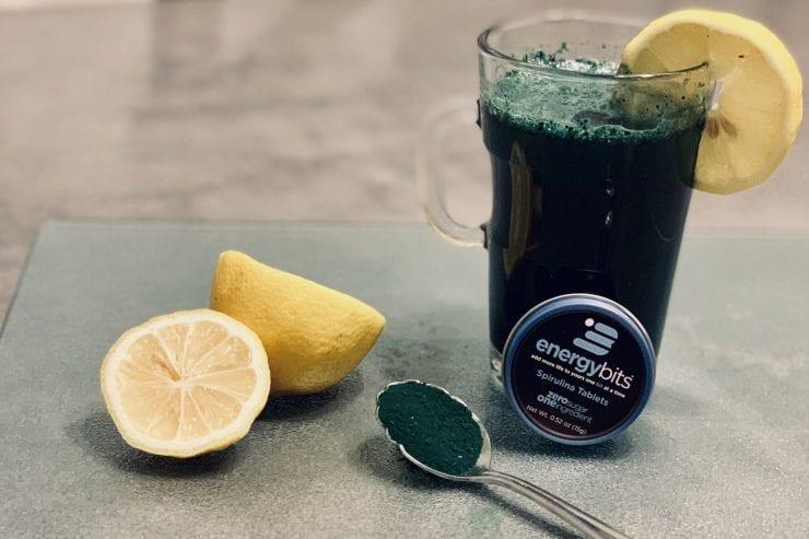 spirulina lemonade
