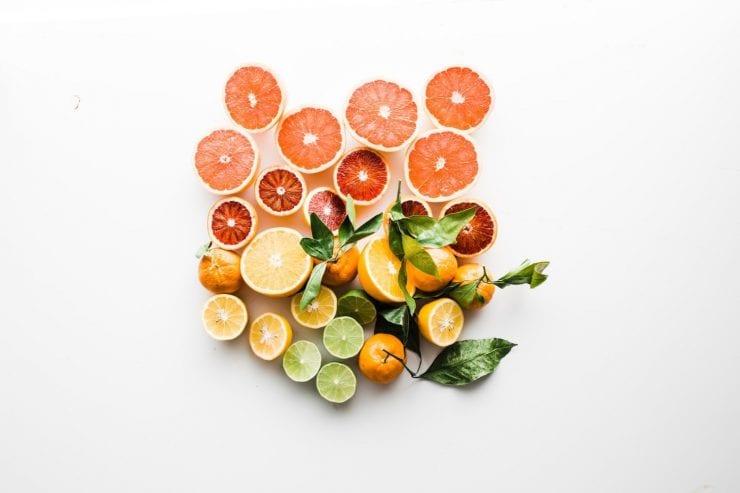 colorful citrus fruit