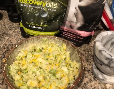 cauliflower rice RECOVERYbits 2