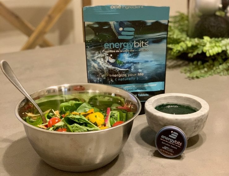tangy spirulina dressing