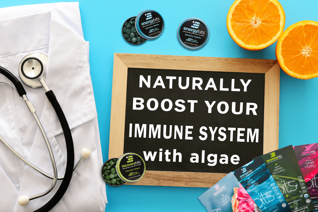 naturally boost your immune system with algae