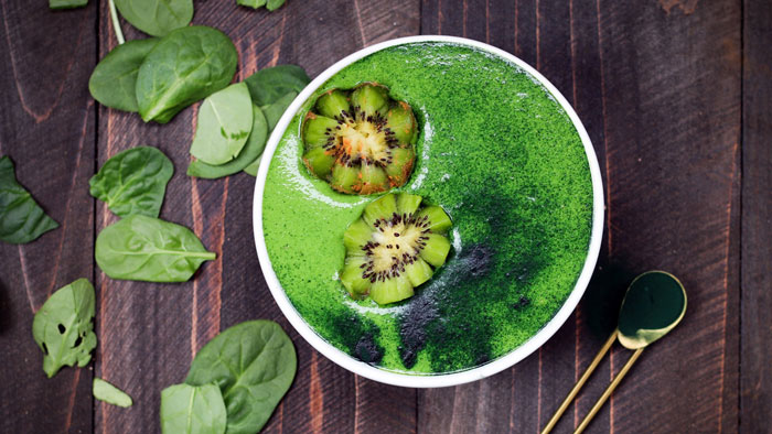 Chlorella Smoothie Bowl
