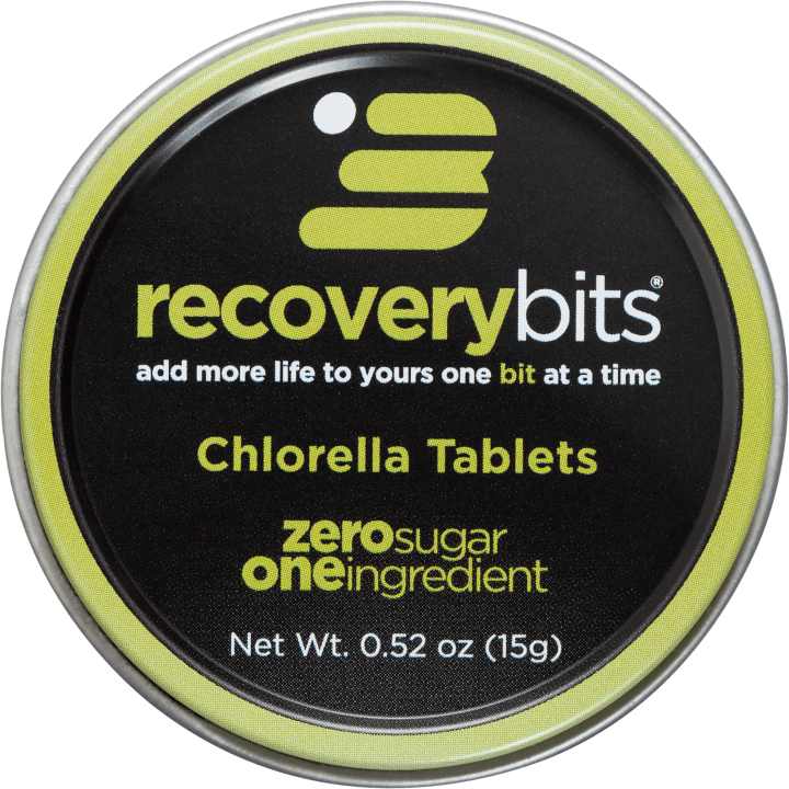 RECOVERYbits Chlorella Algae Tin
