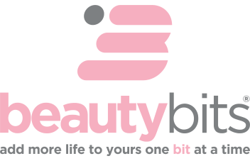 BEAUTYbits Gray Tagline Logo - Top B