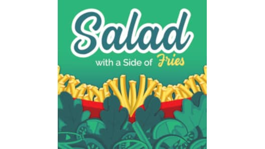 Salad With a Side of Fries