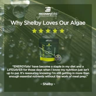 Shelby says 'energybits have become a staple in my diet and a lifesaver...'