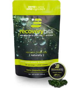 recoverybits chlorella tablets bag