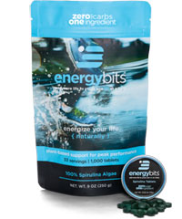 energybits spirulina tablets bag