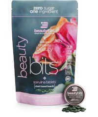 beautybits spirulina tablets bag