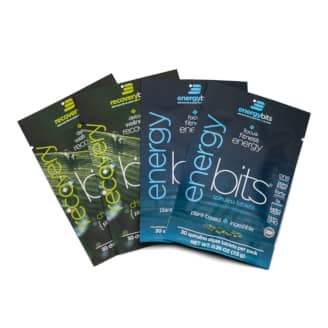 energybits and recoverybits single servings